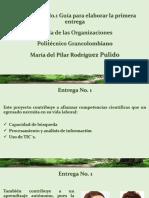 Conferencia 1 Teorias Organizacionales