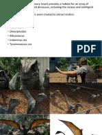Jurassic World Presentation