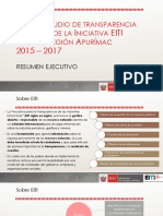 Resumen del Estudio EITI Apurímac 2017