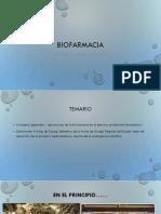 1ra Semana Biofarmacia UMA Conceptos Generales 2017