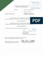Delagente complaint