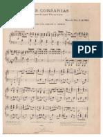 Las Corsarias Banderita Piano y Voz