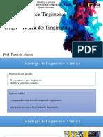 Tingimento (a. 2) - Teoria Do Tingimento_Cinética