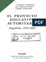 Braslavsky-EL PROYECTO EDUCATIVO AUTORITARIO.pdf