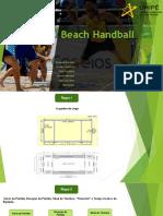 Beach Handball Slide