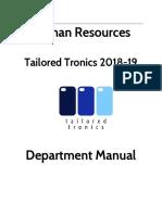 copy of hr department manual