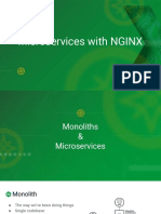 Microservices with NGINX