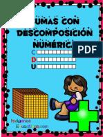 Coleccion de Fichas Sumas Con Descomposicion Numerica PDF 1 5