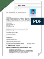 ADEEL CV