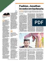 Entrevista de Jonathan publicada no jornal O Popular