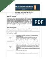 GST Brochure PDF