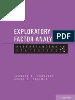 (Understanding Statistics) Fabrigar, L.R._ Wegener, D.T.-Exploratory Factor Analysis-Oxford University Press (2011).pdf