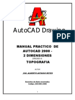 Manual de Autocad Para Topografia