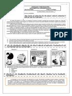 Guía Ejercicios Argumentación N° 1