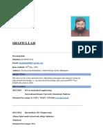 Shafiullah CV
