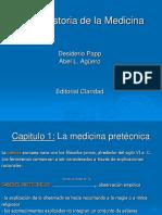 Historia Medicina - Cap 1