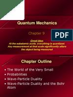 Chapter 9 - Quantum Mechanics