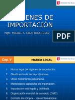 Regímenes de importación