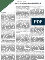 Edgard Romero Nava - Consecomercio No Acepta La Inamovilidad Laboral - El Impulso 08.07.1989