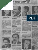 Edgard Romero Nava - Los 100 Primeros Dias de CAP - Florencia Tovar