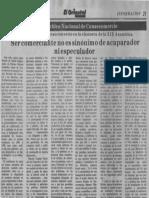 Edgard Romero Nava - Ser Comerciante No Es Sinonimo de Acaparador Ni Especulador - Diario El Oriental 19.04.1989