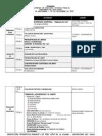 Programación VI Jornada de Diálogos Interculturales 2017