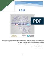 Dossier de Problemas de Olimpíadas Matemáticas-2018 (1)