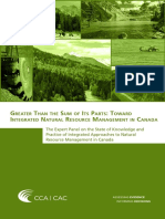 Greater Than the Sum of Its Parts Toward Integrated Natural Resource Management in Canada