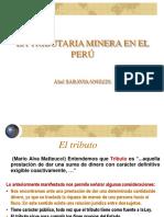 Tributacion minera en el Perú