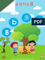15 La Letra B Material de Aprendizaje