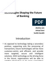 Technologies Shaping the Future of Banking