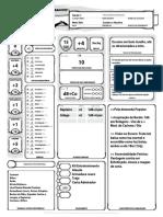 D&D 5E - Ficha Bardo Meio Elfo Atlas