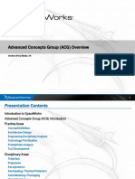Advanced Concepts Group ACG Overview