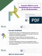 ManuelCamean Taller Aspectos Basicos en La Estabilidad Fisico-Quimica de Los Medicamentos
