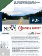 Fuel Consumption - CTV News/Nanos Survey