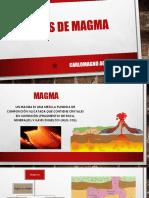 Tipos de Magma - Ing. Carlomagno Aguas Cobeña