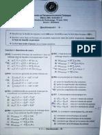 Exam Thermo Chimie EXOMAROC