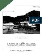 EduardoLMenendez el punto de vista del actor.pdf