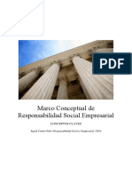 Marco Conceptual de Responsabilidad Social Empresarial