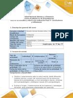 Guía de Actividades y Rúbrica de Evaluación Del Curso Paso 4 Conclusiones y Reflexiones