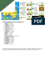 Países de América Latina Por Población