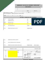 Memoria de Calculo de Sistema de Ventilación Auxiliar_Plantilla