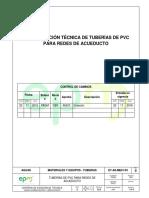 ET as ME01 03 Tuberia de PVC Acueducto