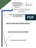 Ensayo practicas sociales de lenguaje