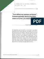 AGUIRRE ARIAGA. LOS NIÑOS NO SOMOS ARTISTAS....pdf