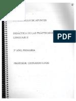 Cuadernillo Didáctica de las Prácticas del Lenguaje II (versión 2018).pdf