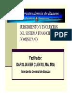 Tema 1 Surgimiento y Evolucion de Sistema Financiero Dominicano