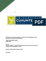 Act. 2.1. Acerca de la formación Docente. Jorge L. Candela.docx
