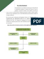 Plan de Trabajo Evacuación Pluvial