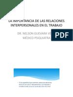 Relaciones Interpersonales Trabajo
